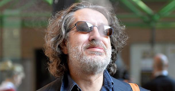 L'imputato Davide Vannoni durante l'udienza del Processo Stamina in Tribunale, Torino,31 Ottobre 2014 ANSA/ ALESSANDRO DI MARCO