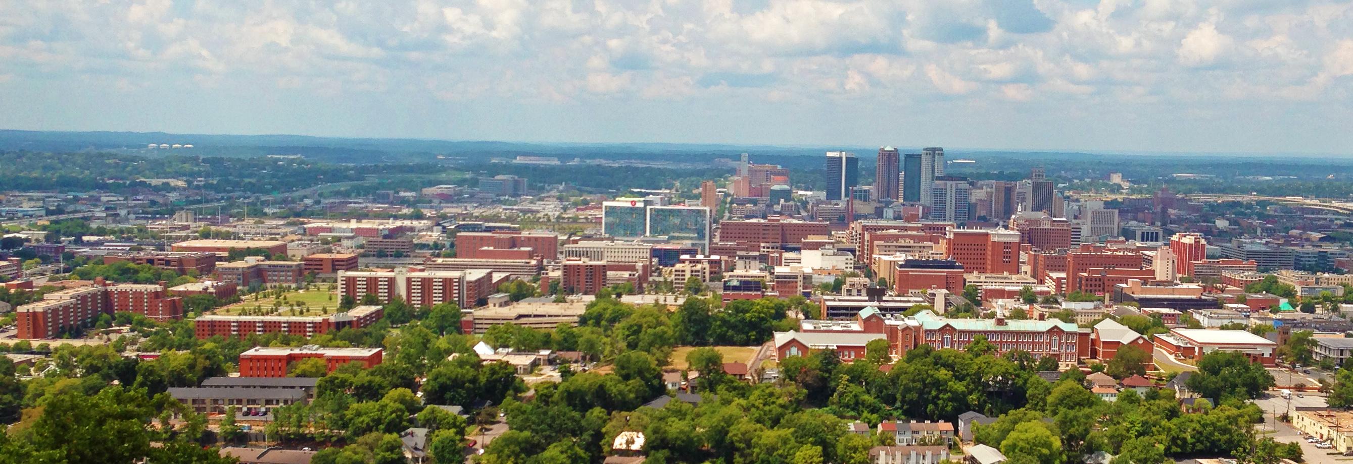 University_of_Alabama_at_Birmingham_Campus_from_Vulcan
