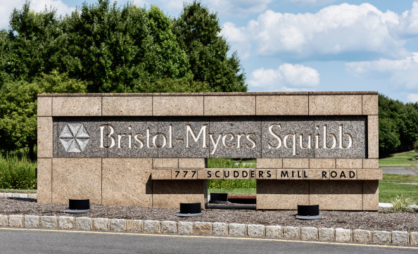 PRINCETON, NEW JERSEY, UNITED STATES - 2014/08/10: Bristol-Myers Squibb R&D headquarters. (Photo by John Greim/LightRocket via Getty Images)